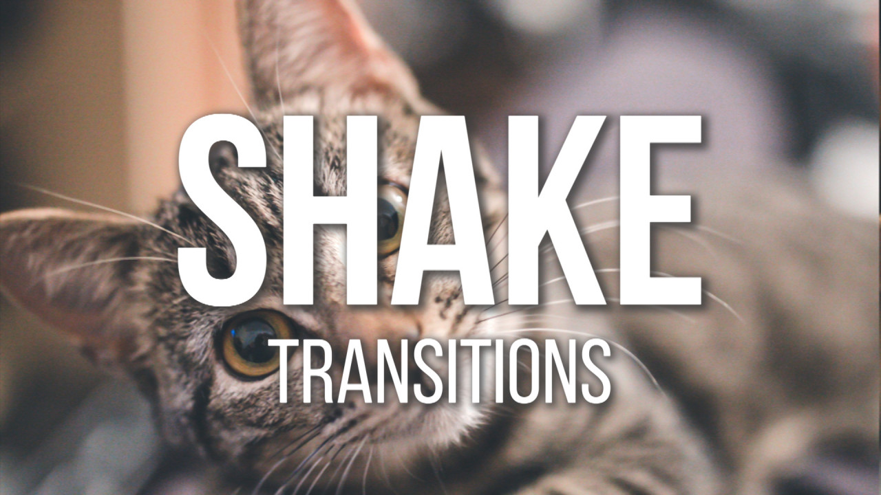 Shake Transitions Presets 185904 + Music