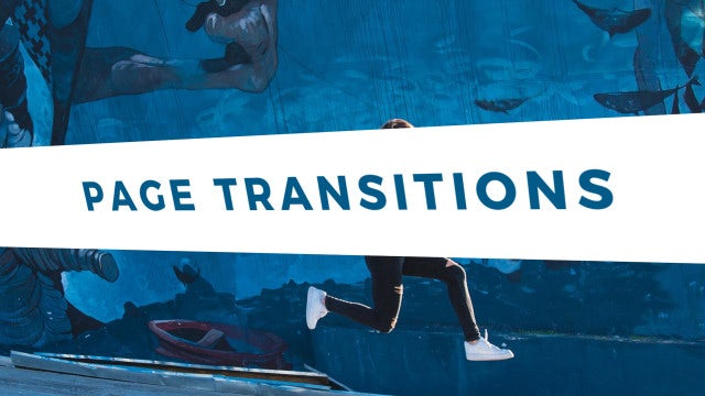Page Transitions: After Effects Presets