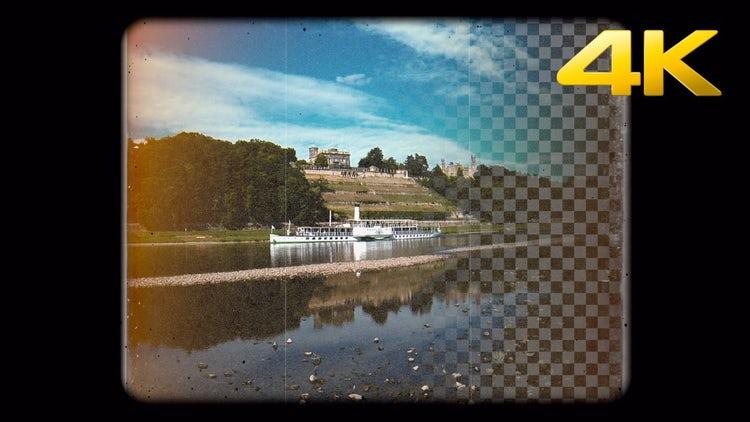 Super 8mm Grunge Overlay 3: Stock Motion Graphics