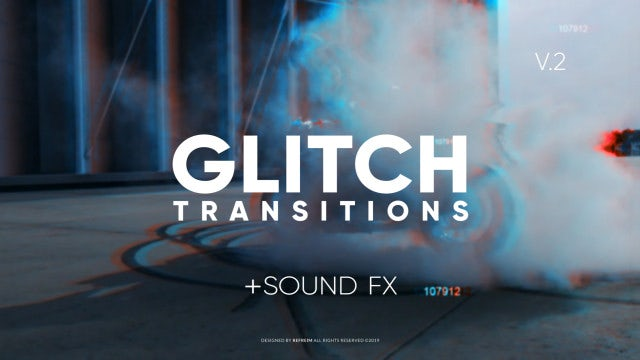 Glitch Transitions V.2: Premiere Pro Presets