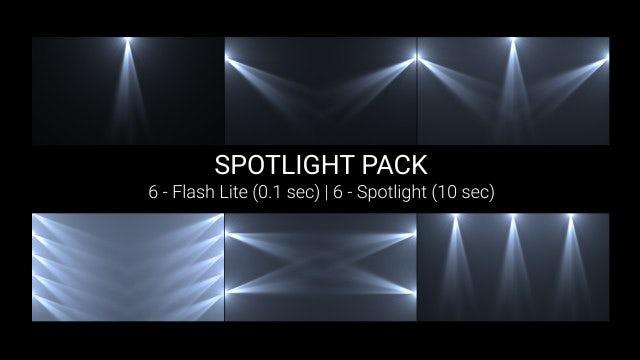 Spotlight Pack: Stock Motion Graphics