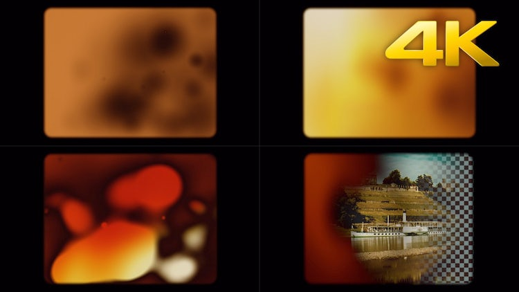 Super 8mm Film Burn Transition: Stock Motion Graphics