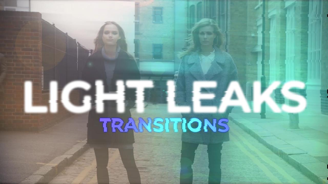 Light Leaks Transitions 187710 + Music