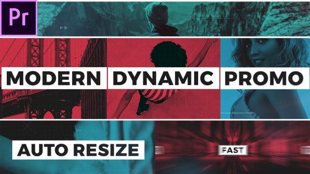 Modern Dynamic Opener: Premiere Pro Templates