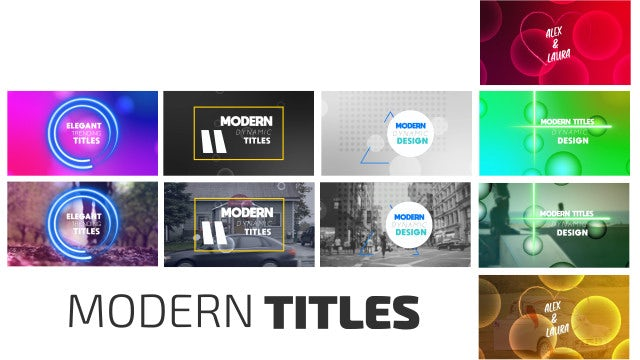 Titles Pack: After Effects Templates