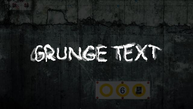 Grunge Text Presets 188298 + Music