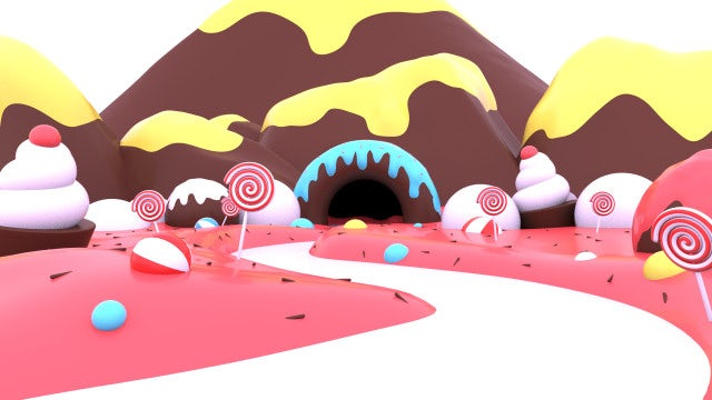 Candyland Opener: After Effects Templates