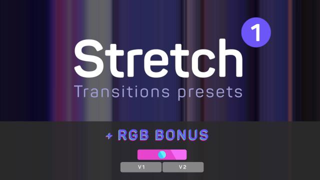 Stretch Transitions 1 (+ RGB Bonus) 188962 + Music
