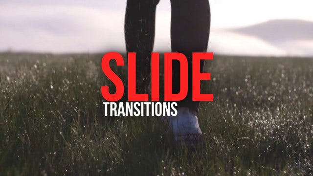 Slide Transitions: Premiere Pro Presets