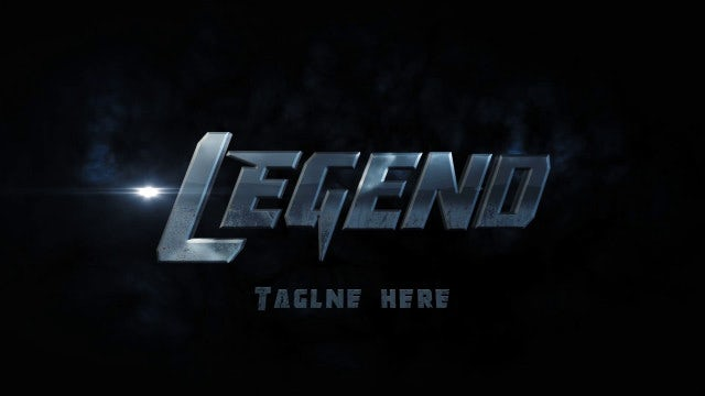 Legend Logo Reveal: After Effects Templates
