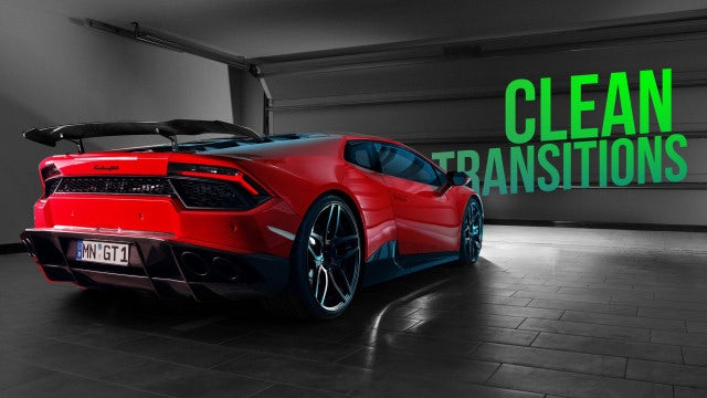 Clean Transitions: After Effects Presets