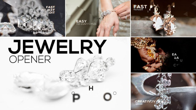 Jewelry Opener: After Effects Templates