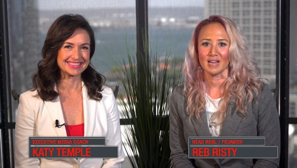 Emmy Award Winner Katy Temple + Reb Risty of RebL Marketing - Video Marketing Workshop