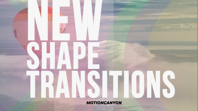 New Shape Transitions: Premiere Pro Presets