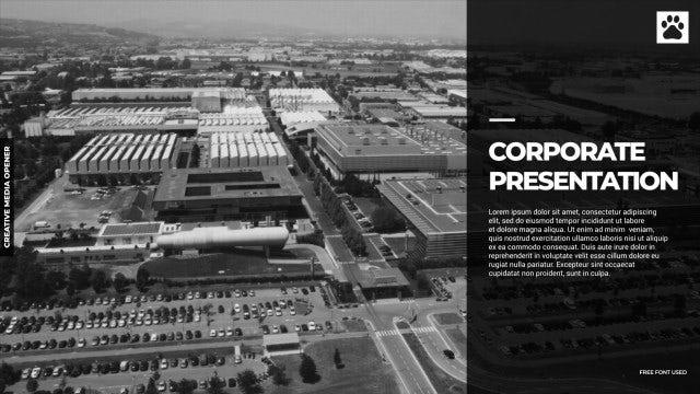 Corporate Presentation: Premiere Pro Templates