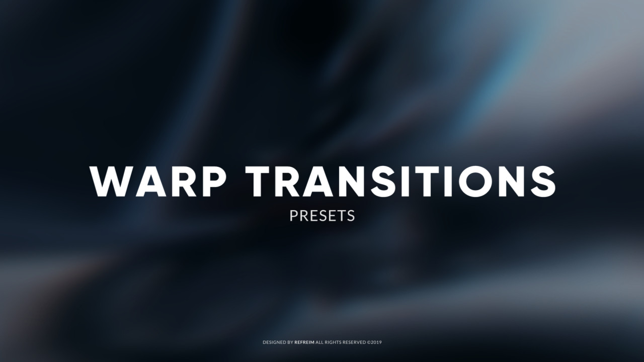 Warp Transitions 191040 + Music