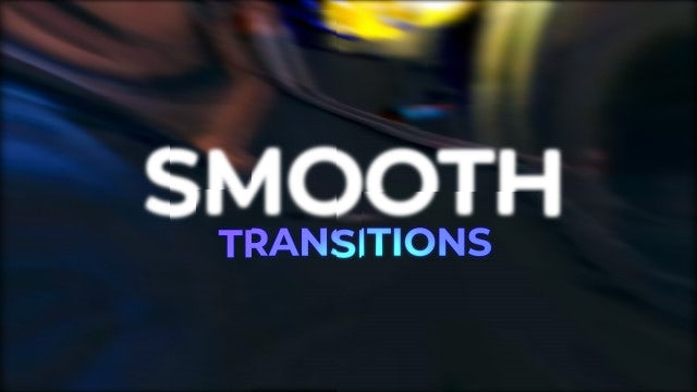 Smooth Transitions: Premiere Pro Presets