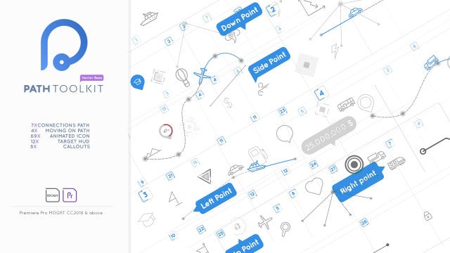 Diagram Chart Maker - Path Toolkit - Motion Graphics Templates