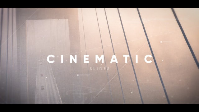 Inspiring Cinematic Slideshow: After Effects Templates
