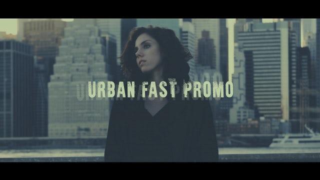 Urban Fast Promo: Premiere Pro Templates
