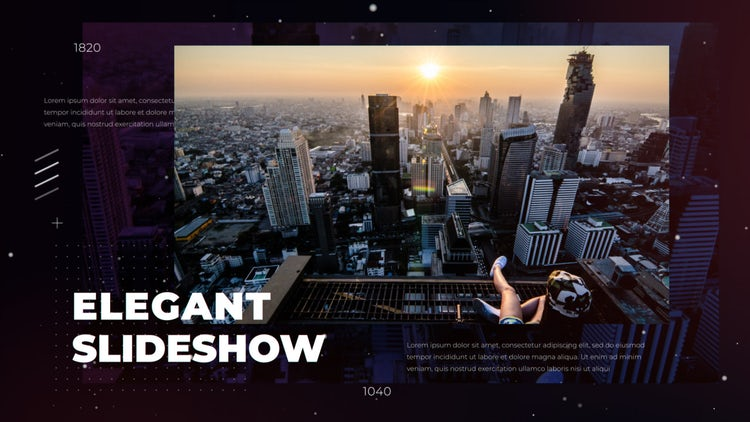 Elegant Slideshow: After Effects Templates