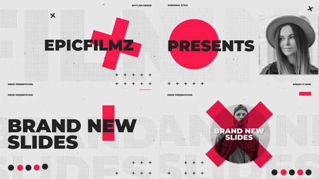 Dynamic Slides Opener: After Effects Templates