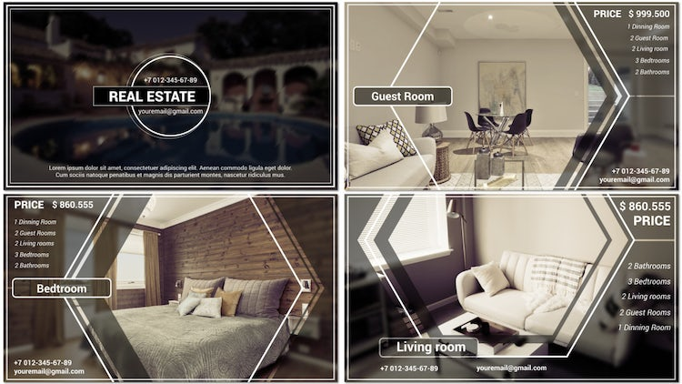 Classic Estate Promo: After Effects Templates