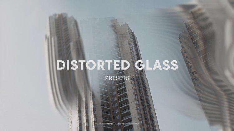 Distorted Glass: After Effects Presets