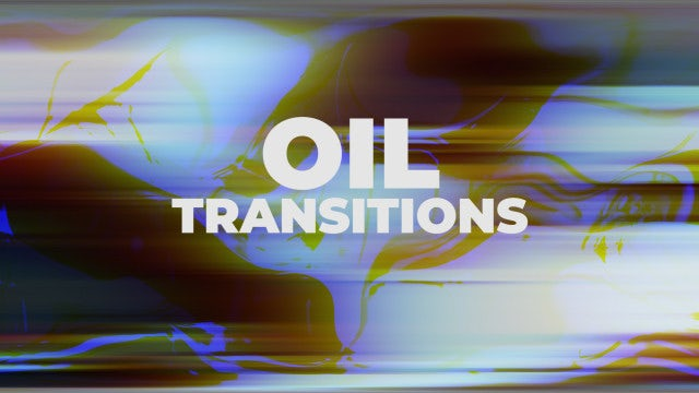 Oil Transitions: Premiere Pro Presets
