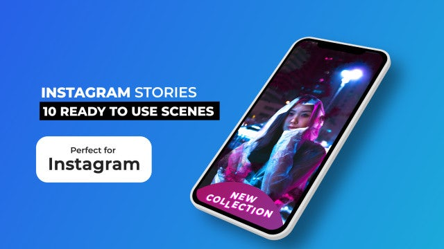 Instagram Stories Pack V4: After Effects Templates