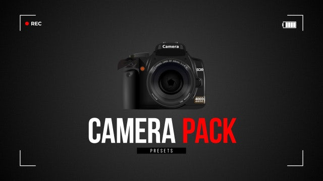 Camera Pack: Premiere Pro Presets
