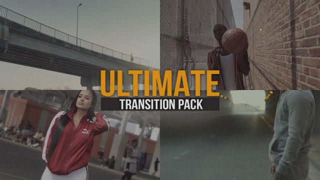 Ultimate Transitions Pack: Premiere Pro Presets
