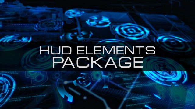 HUD Elements Package: After Effects Templates