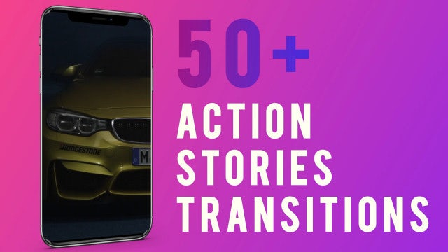 Stories Transitions: After Effects Templates