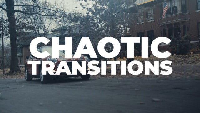 Chaotic Transitions: Premiere Pro Presets