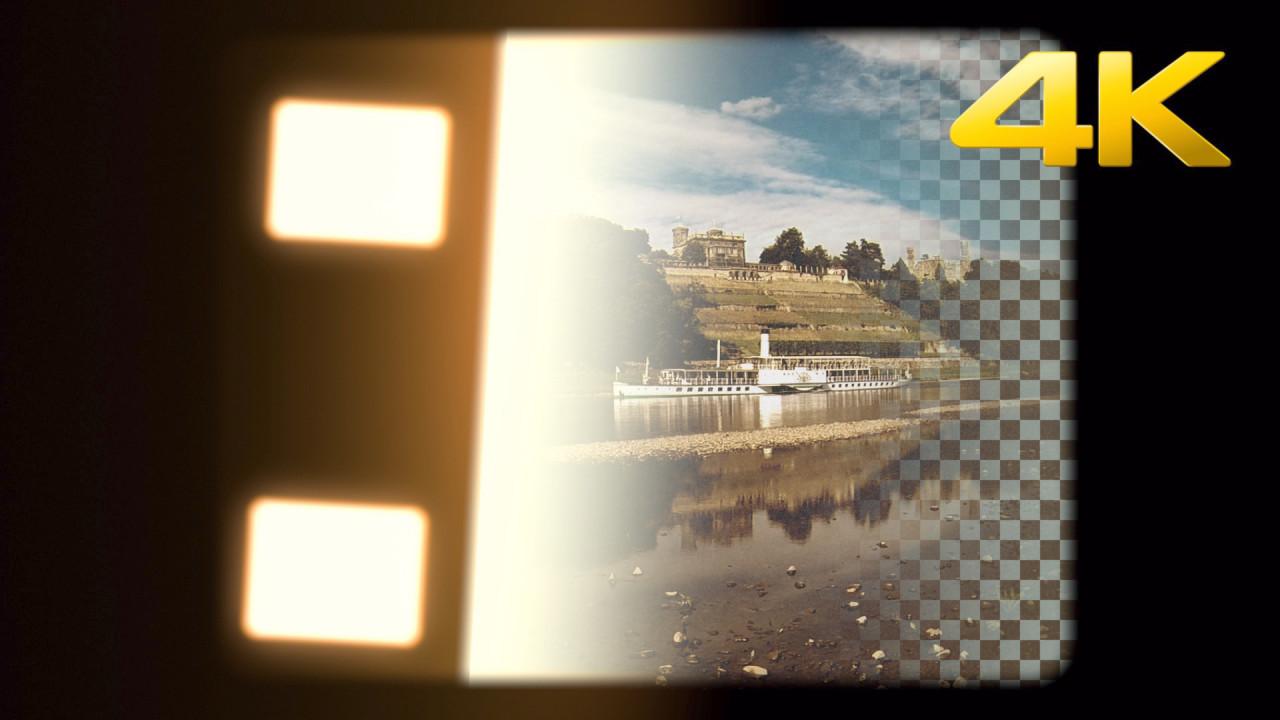 Super 8mm Light Opener Overlay - Stock Motion Graphics