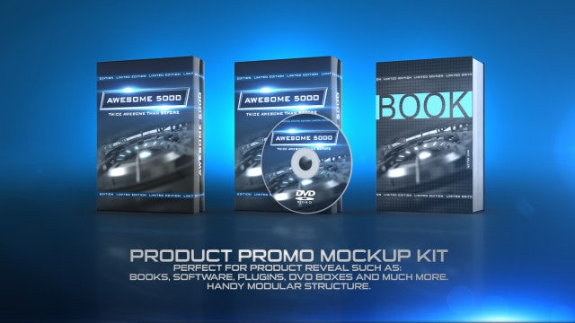 Product Promo Mockup Kit: After Effects Templates