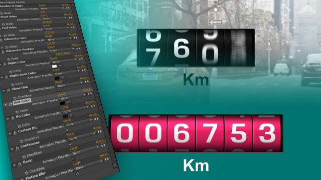 Odometer: After Effects Templates