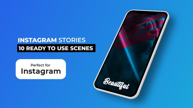 Instagram Stories Pack V5: After Effects Templates