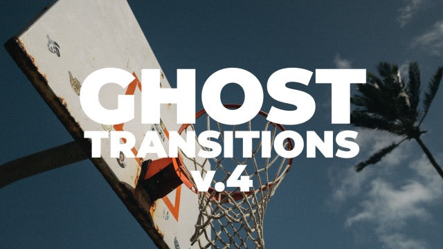 Ghost Transitions V.4: Premiere Pro Presets