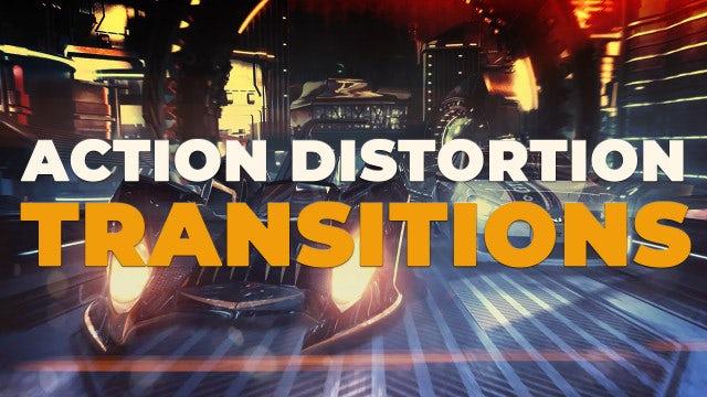 Action Distortion Transitions: Premiere Pro Presets