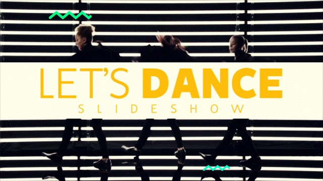 Slideshow - Let's Dance: After Effects Templates