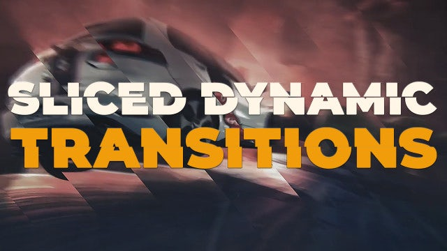 Sliced Dynamic Transitions: Premiere Pro Presets