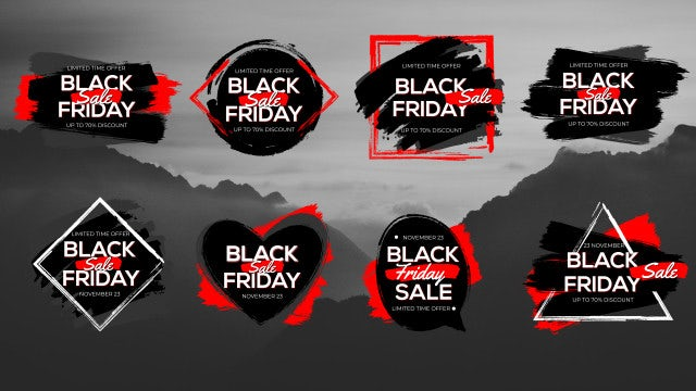 8 Stylish Sale Titles: Premiere Pro Templates