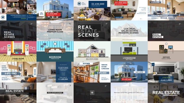 Real Estate Pack: After Effects Templates