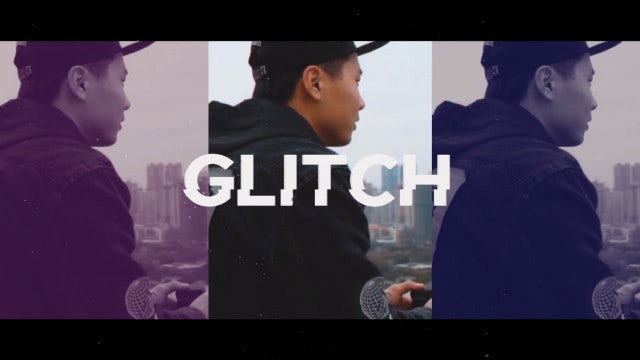 Trendy Glitch Opener: After Effects Templates