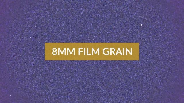 8mm Film Grain Pack: Stock Motion Graphics