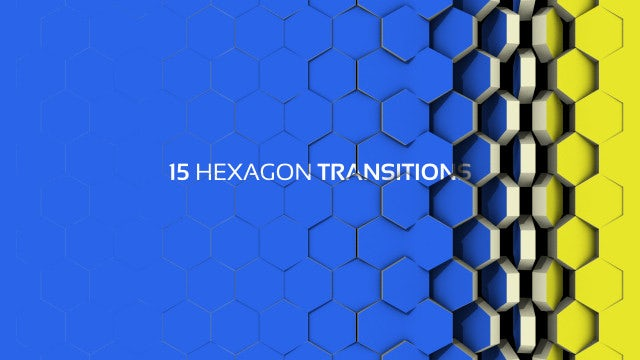 Hexagon Transitions: After Effects Templates