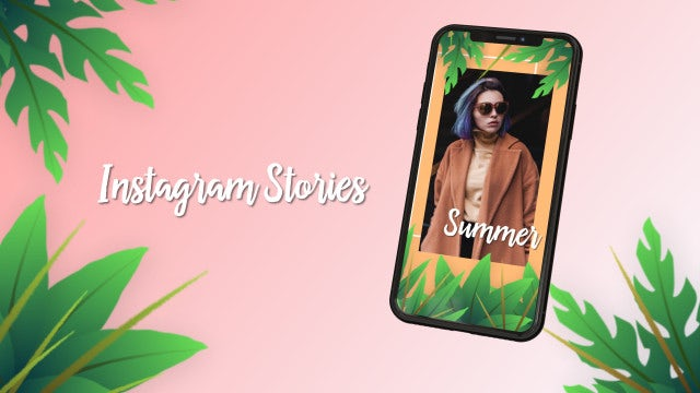 Instagram Stories: After Effects Templates