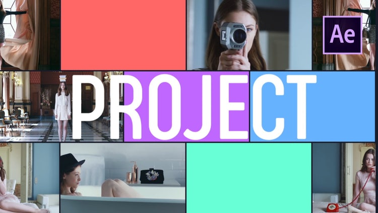 Multiframe Promo: After Effects Templates